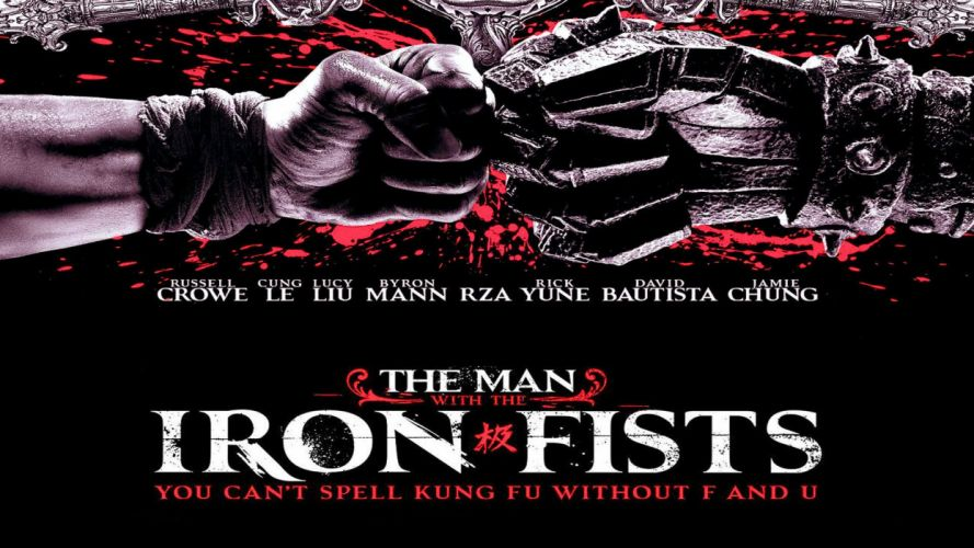 The Man with the Iron Fists action martial arts asian poster g wallpaper