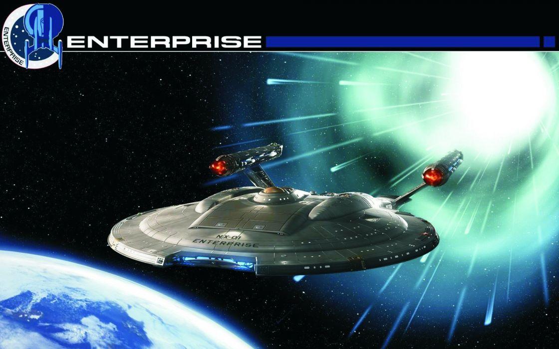 Star Trek Nx 01 Uss Enterprise Wallpaper 1920x1200