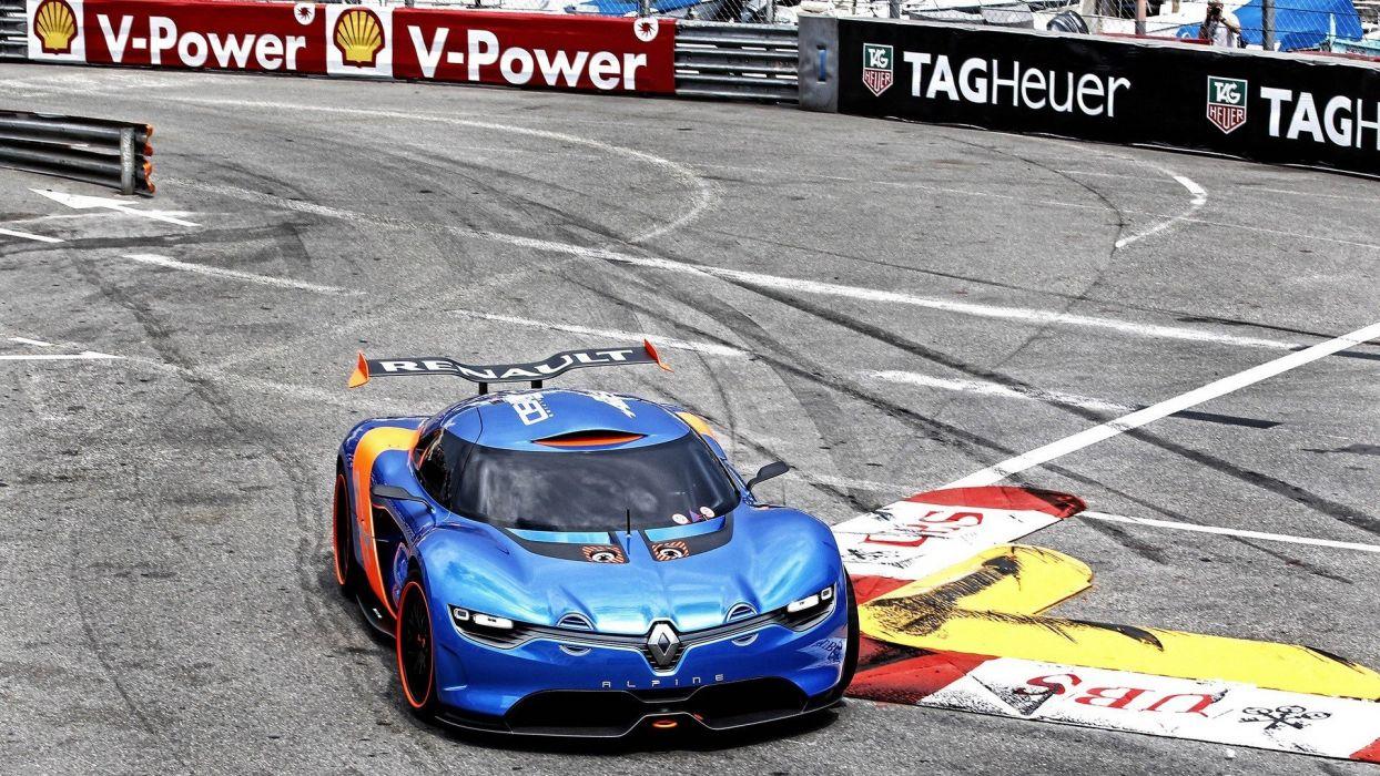 cars sports track Renault Alpine races race tracks Renault Alpine A110-50 wallpaper