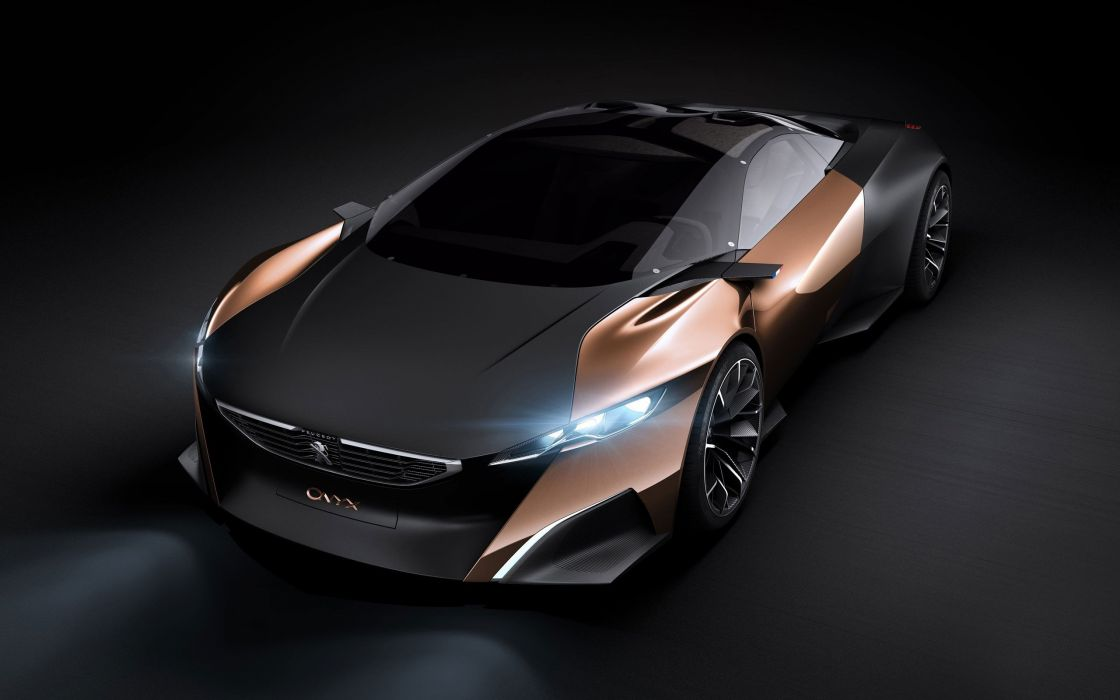 cars Peugeot concept cars Peugeot Onyx wallpaper