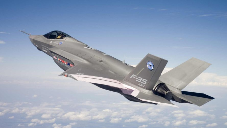 aircraft military Joint Strike Fighter F-35 Lightning II wallpaper