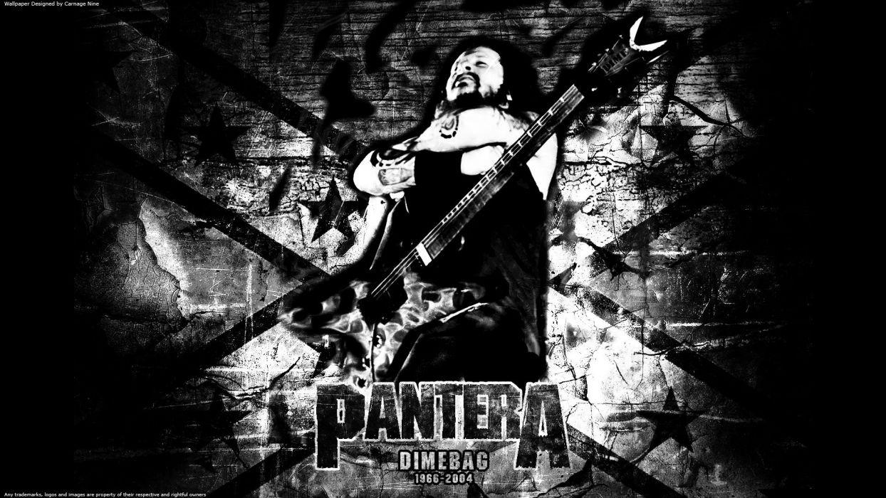 music Pantera music dimebag wallpaper
