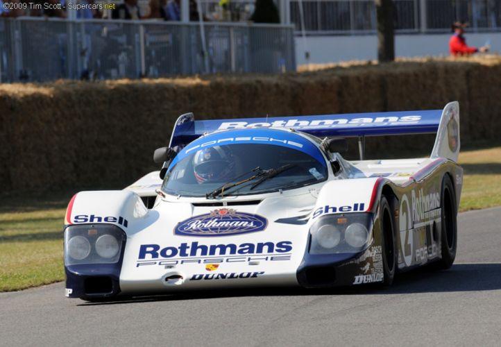 porsche le mans wins 962 race racing car classic gt wallpaper