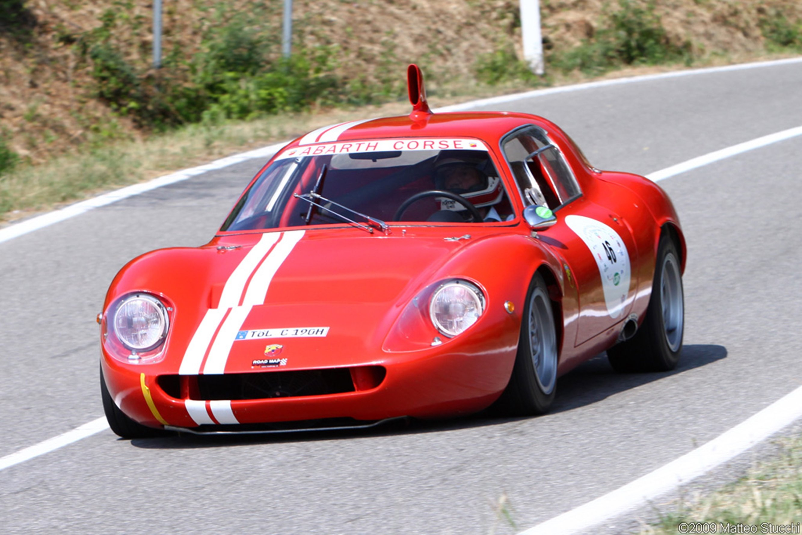 Abarth italy classic car race racing gt red wallpaper ...