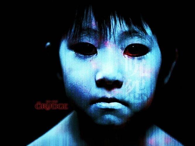THE GRUDGE horror mystery thriller dark movie film the-grudge ju-on poster monster demon wallpaper