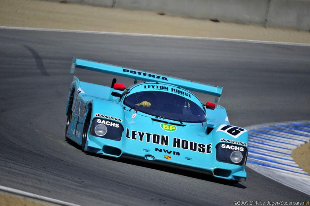 Porsche 962 Classic Car Race Racing Gt Leyton House Wallpaper