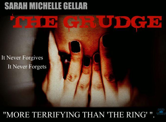 THE GRUDGE horror mystery thriller dark movie film the-grudge ju-on demon poster blood wallpaper