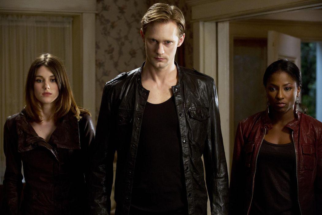 TRUE BLOOD drama fantasy mystery dark horror hbo television series vampire (5) wallpaper