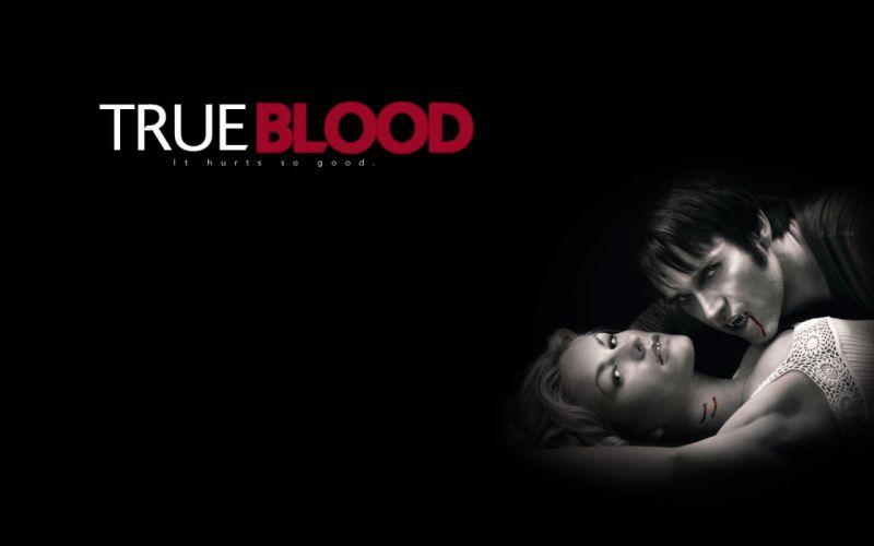 TRUE BLOOD drama fantasy mystery dark horror hbo television series vampire (22) wallpaper