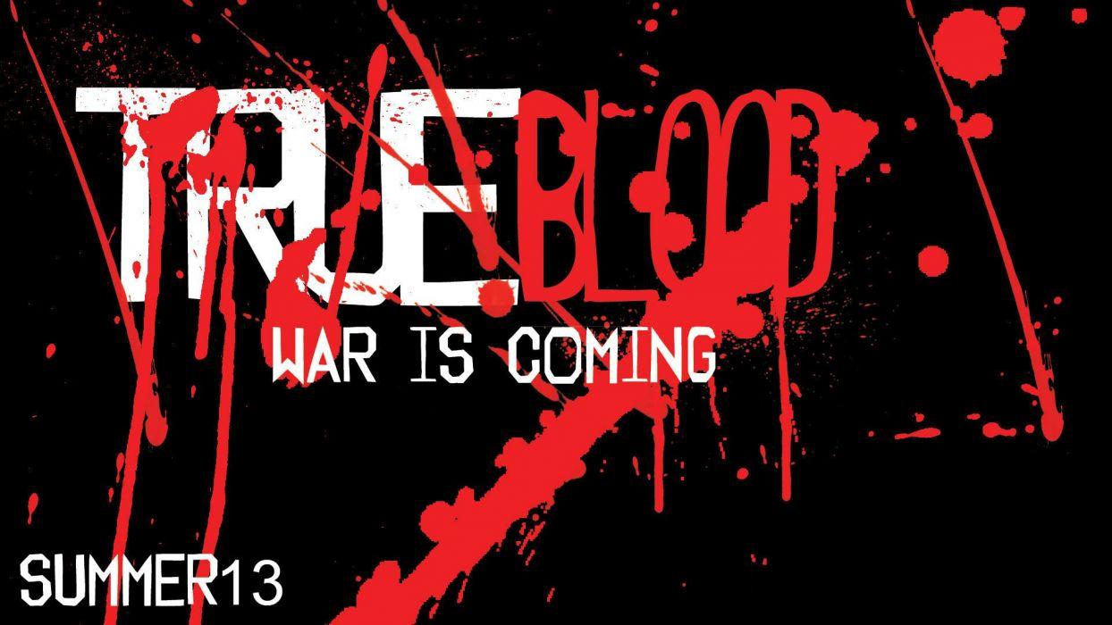 TRUE BLOOD drama fantasy mystery dark horror hbo television series vampire (45) wallpaper