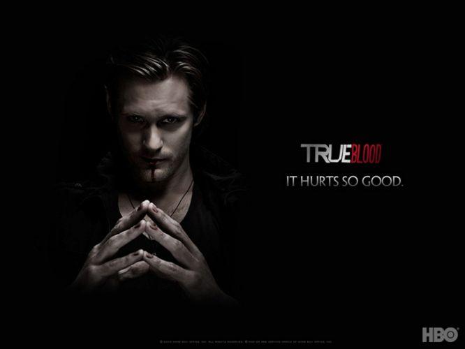 TRUE BLOOD drama fantasy mystery dark horror hbo television series vampire (47) wallpaper