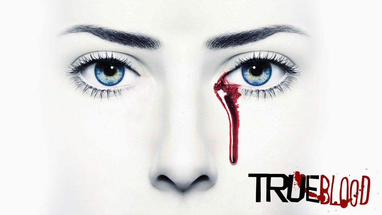TRUE BLOOD drama fantasy mystery dark horror hbo television series vampire (68) wallpaper