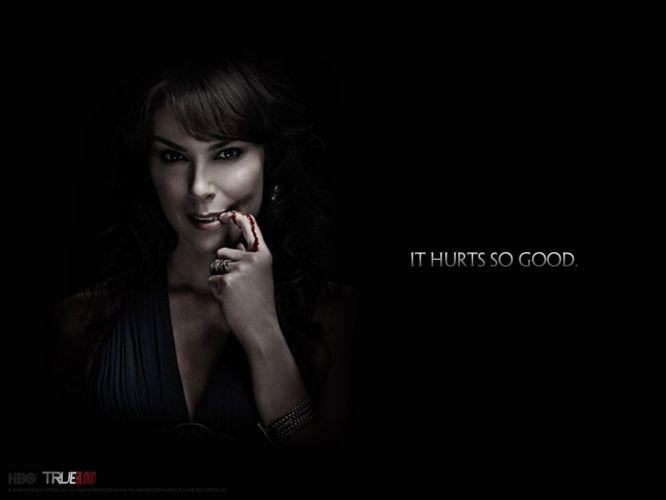 TRUE BLOOD drama fantasy mystery dark horror hbo television series vampire (63) wallpaper