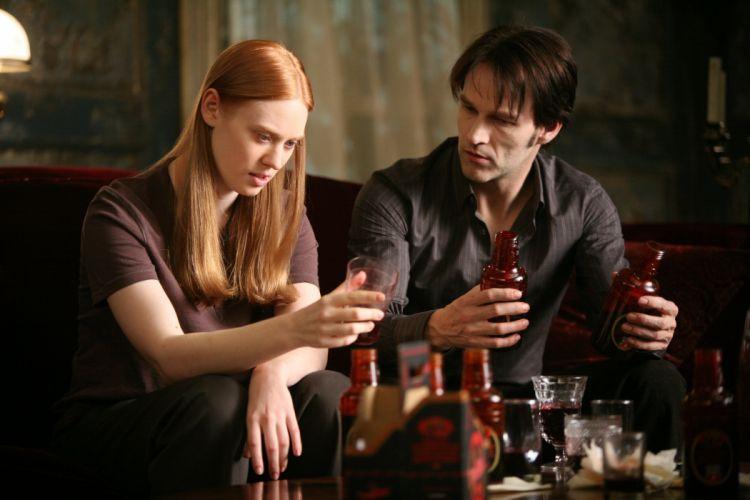 TRUE BLOOD drama fantasy mystery dark horror hbo television series vampire (46) wallpaper