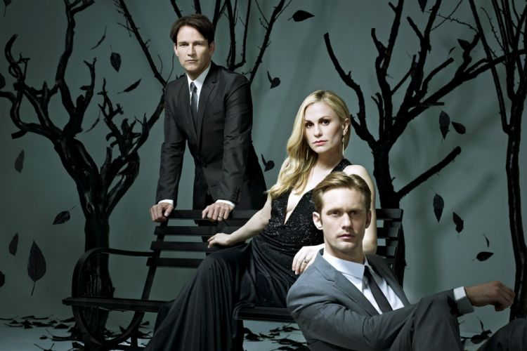 TRUE BLOOD drama fantasy mystery dark horror hbo television series vampire (58) wallpaper