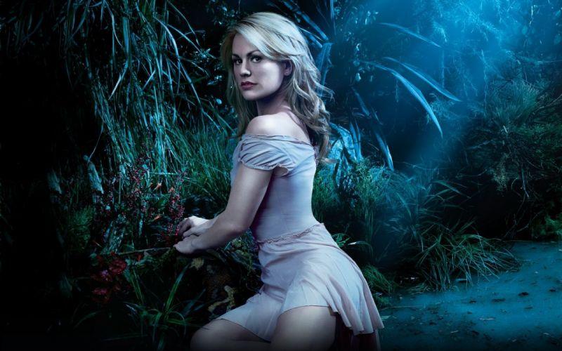 TRUE BLOOD drama fantasy mystery dark horror hbo television series vampire (170) wallpaper