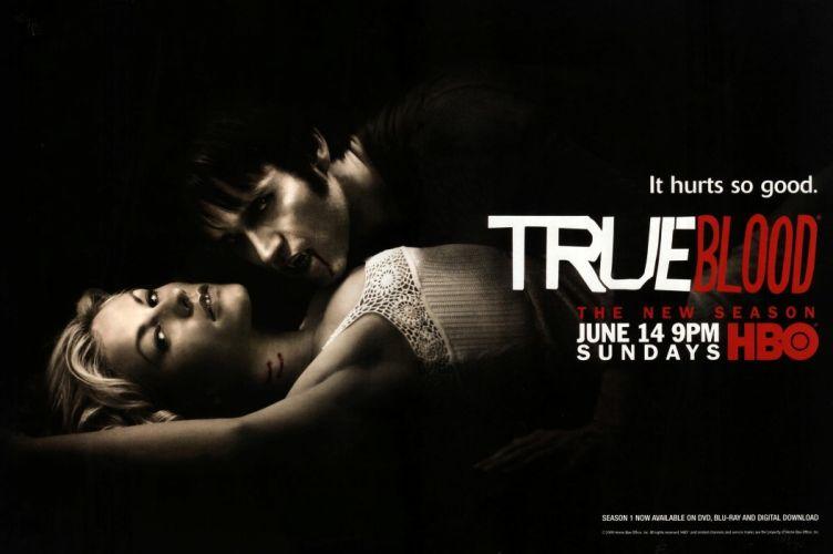 TRUE BLOOD drama fantasy mystery dark horror hbo television series vampire (191) wallpaper