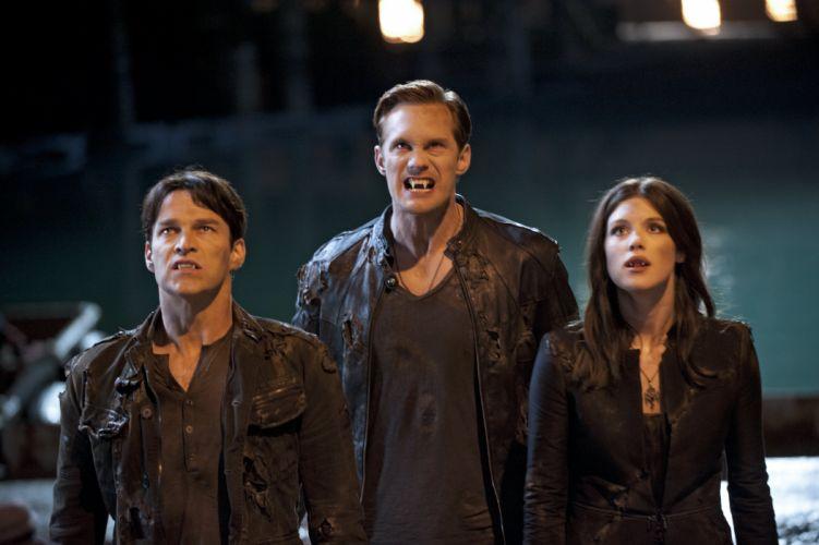 TRUE BLOOD drama fantasy mystery dark horror hbo television series vampire (183) wallpaper