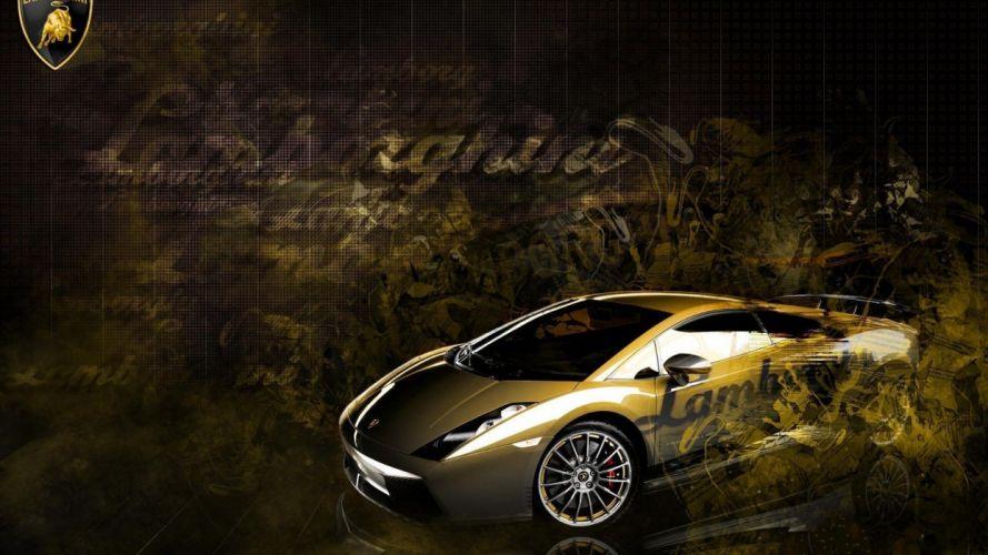 cars Lamborghini Gallardo races racing cars speed automobiles wallpaper