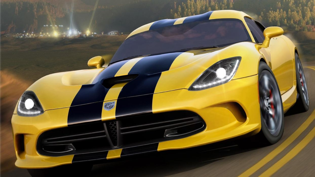 video games cars Xbox 360 Dodge Viper GTS Forza Horizon wallpaper