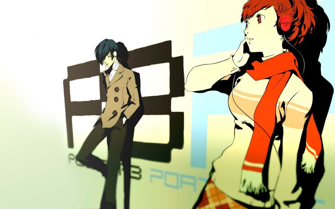 Persona series Persona 3 Arisato Minato Female Protagonist (Persona 3) wallpaper