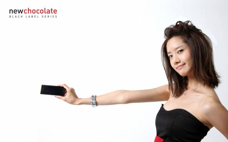 women Girls Generation SNSD celebrity Im YoonA wallpaper