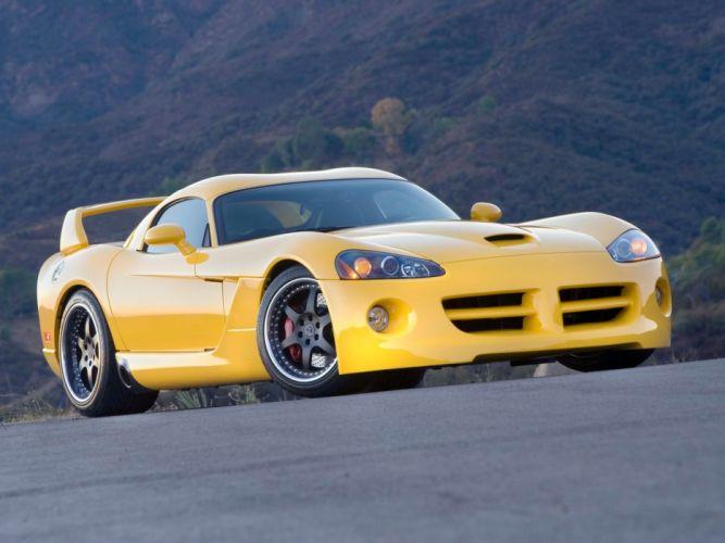 Dodge Viper twin turbo Hennessey Venom wallpaper