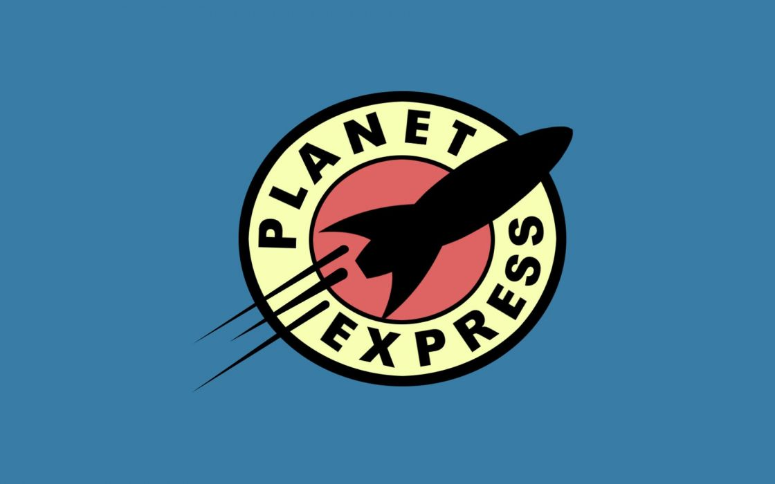 Futurama planets logos simple background wallpaper