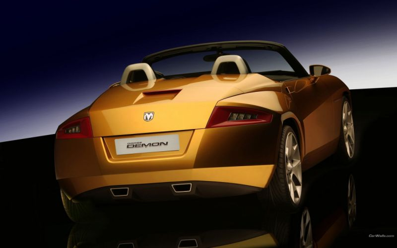 cars Dodge roadster wallpaper