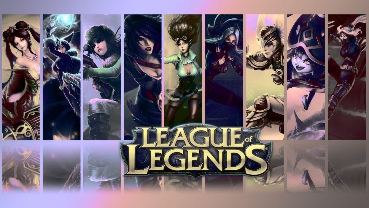 League Of Legends Irelia Janna The Storms Fury Sivir Caitlyn The