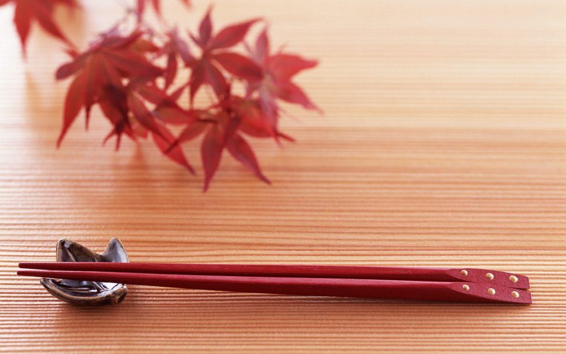 oriental chopsticks wallpaper