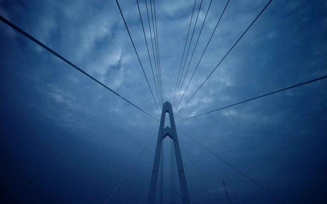 bridges skyscapes wallpaper