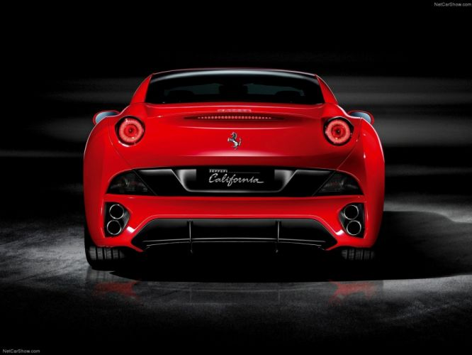 red cars Ferrari California wallpaper