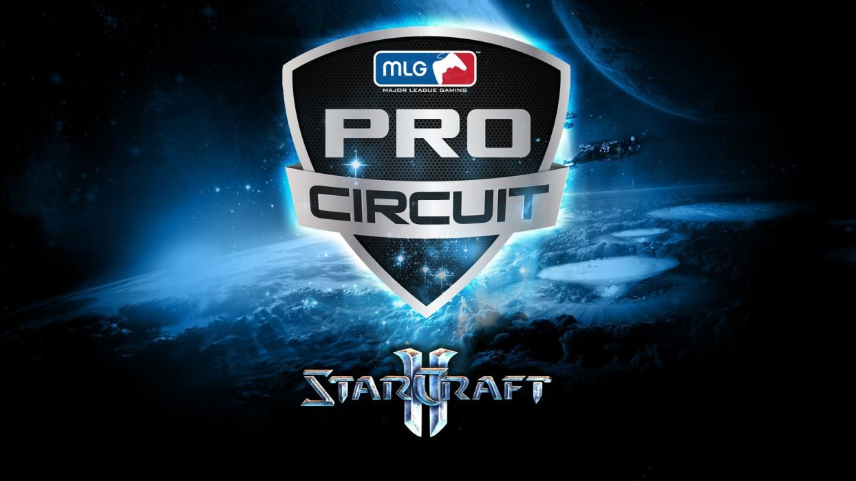 StarCraft II MLG Major League Gaming Wallpaper