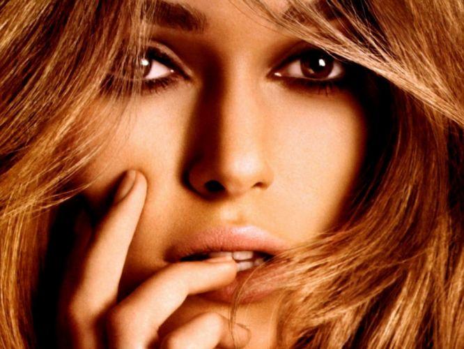 women models Keira Knightley wallpaper