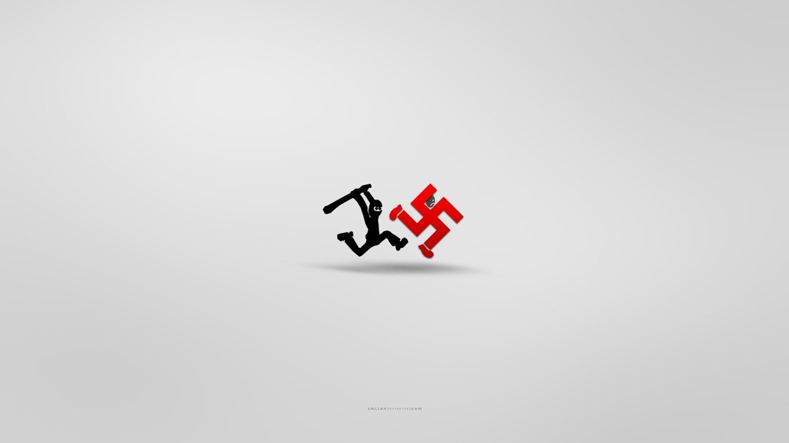 minimalistic ninjas funny swastika wallpaper backgroundSwastika Wallpaper Hd