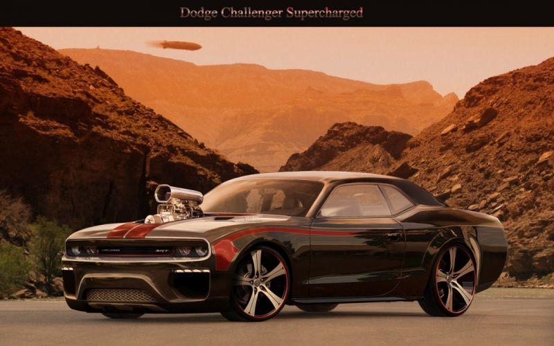 cars Dodge Challenger SRT8 super cars wallpaper