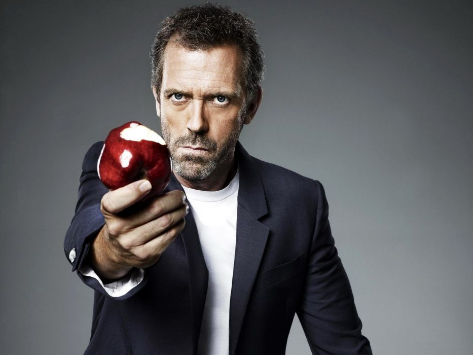 Hugh Laurie Gregory House House M_D_ wallpaper