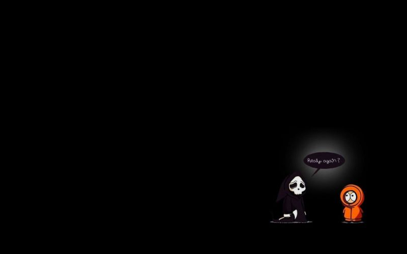 South Park funny Kenny McCormick clean wallpaper