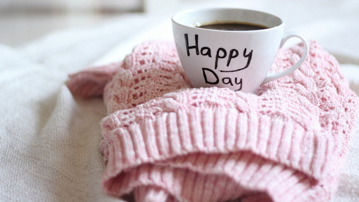 coffee drinks Happy Days wallpaper
