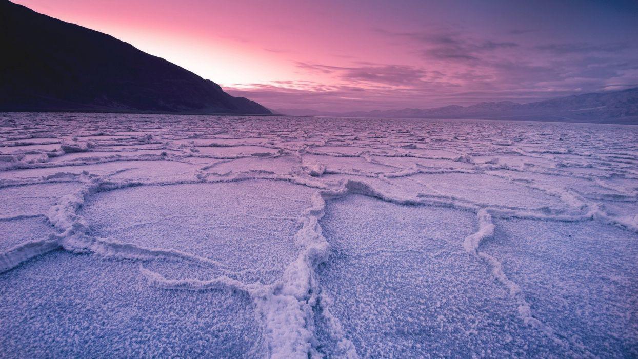 mountains clouds landscapes nature USA California salt Death Valley National Park sky wallpaper