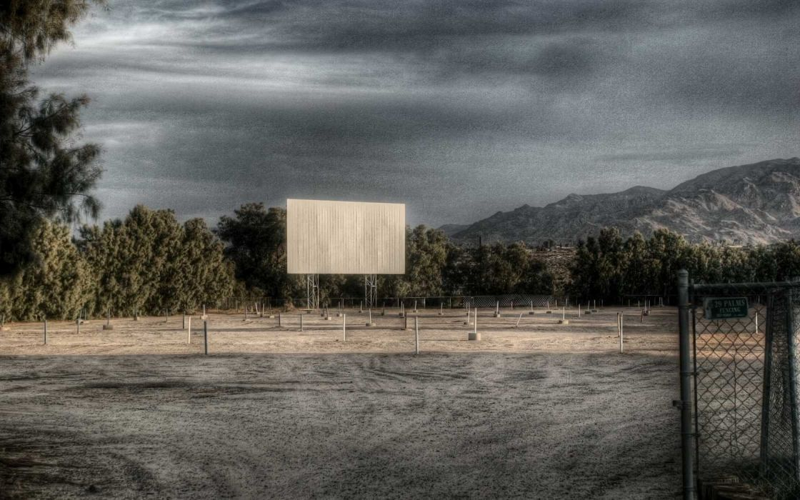 movies HDR photography drive in wallpaper
