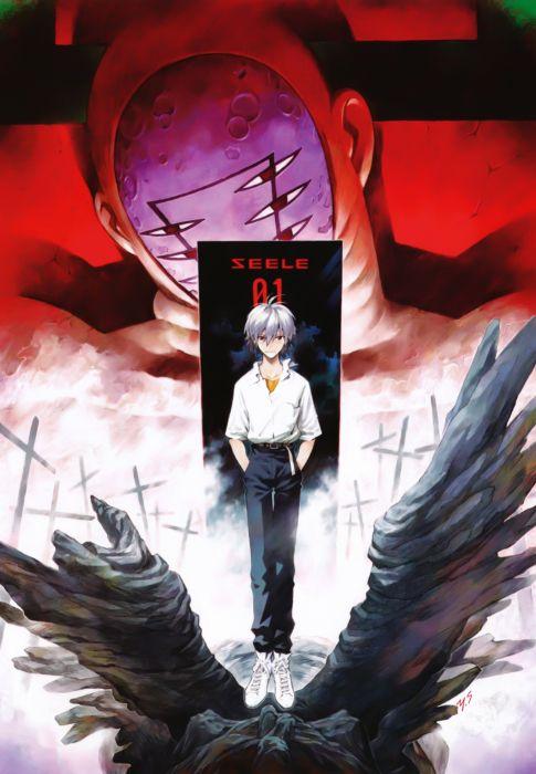 Neon Genesis Evangelion Kaworu Nagisa Seele wallpaper