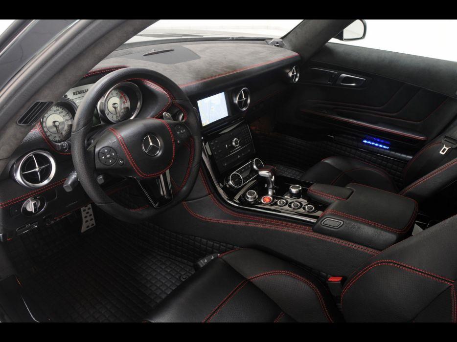 Interior Brabus car interiors Mercedes-Benz Mercedes-Benz SLS AMG E ...
