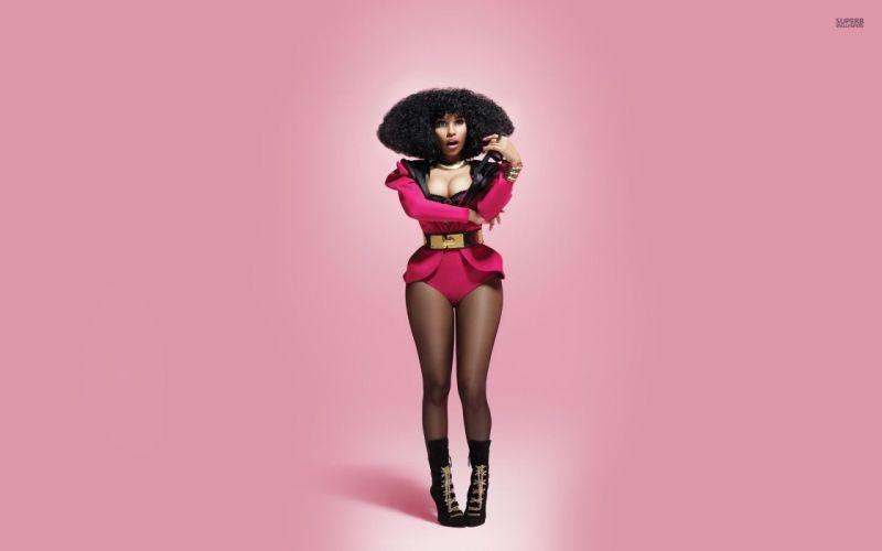 NICKI MINAJ pop r-b hip hop rap rapper singer actress glam sexy babe (116) wallpaper