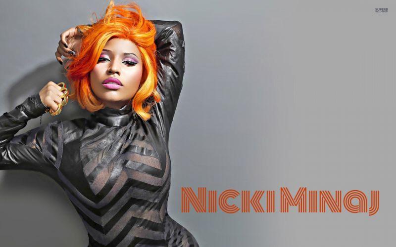 NICKI MINAJ pop r-b hip hop rap rapper singer actress glam sexy babe (113) wallpaper