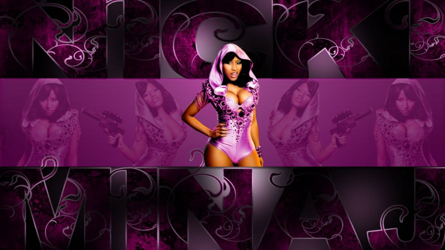 NICKI MINAJ pop r-b hip hop rap rapper singer actress glam sexy babe (28) wallpaper