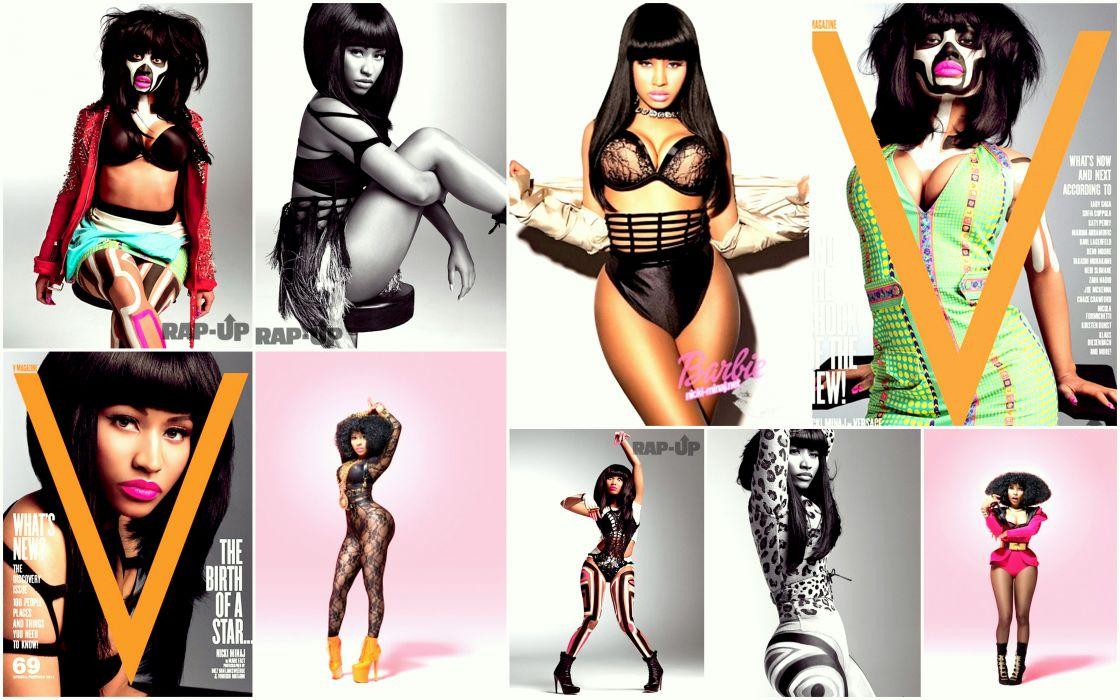 NICKI MINAJ pop r-b hip hop rap rapper singer actress glam sexy babe (31) wallpaper