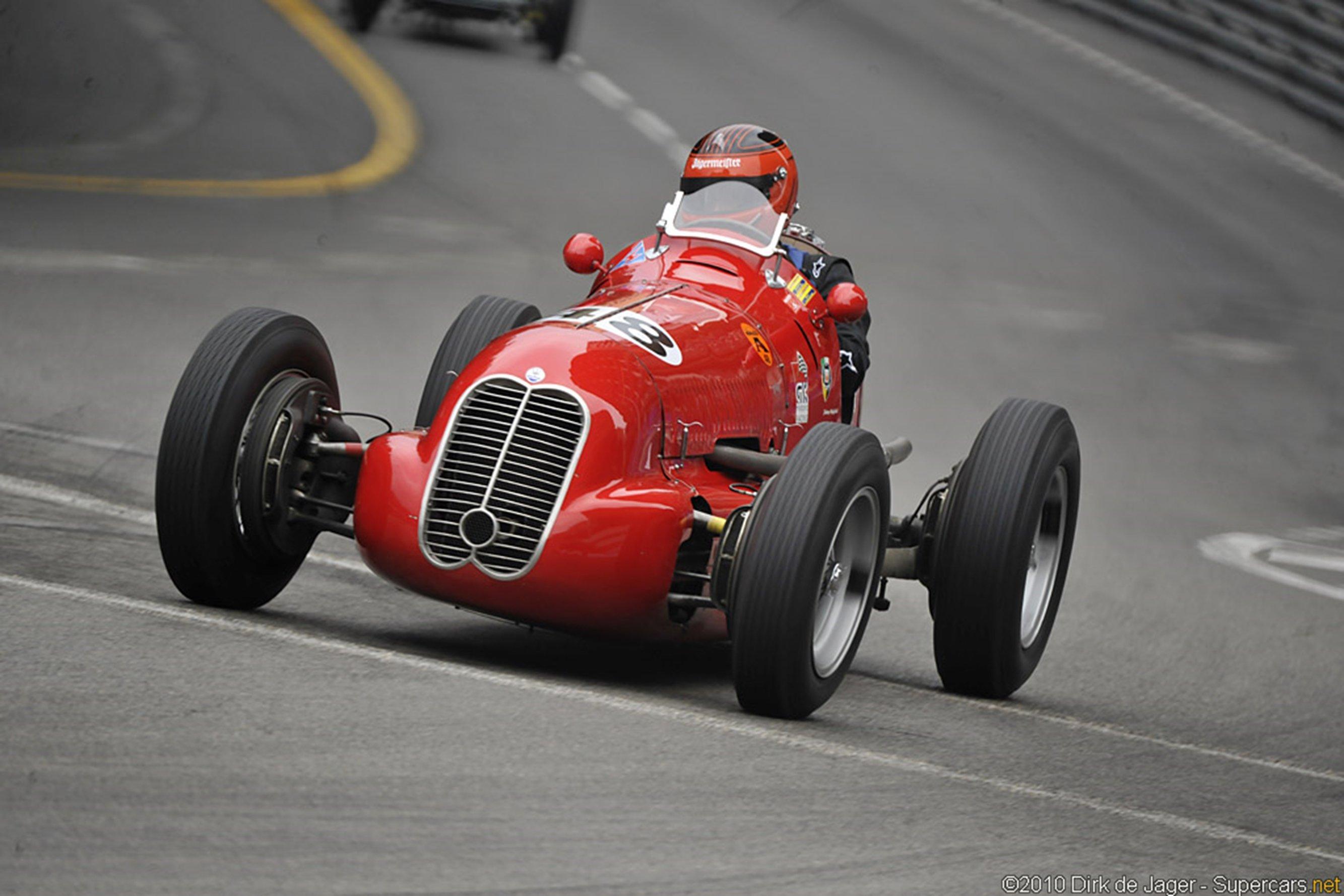 Classic Car Race Racing Retro Italy Maserati Wallpaper
