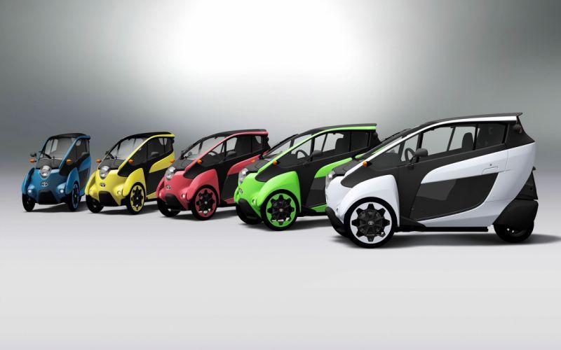 2014-Toyota-i-Road-First-Public-Trials-Static-3 colors 4000x2500 wallpaper